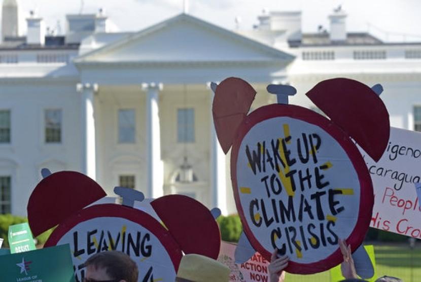 Trump: Kami Bisa Kembali Masuk Kesepakatan Iklim Paris
