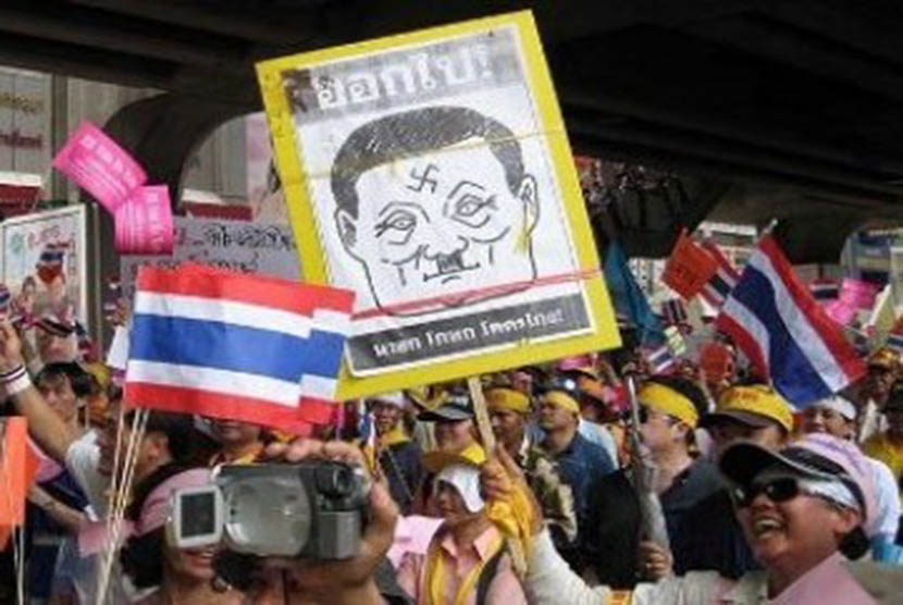 Demonstrasi Anti-Thaksin di Thailand