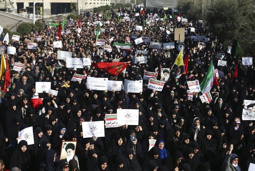Jaksa Agung Iran: CIA Perancang Utama Demonstrasi