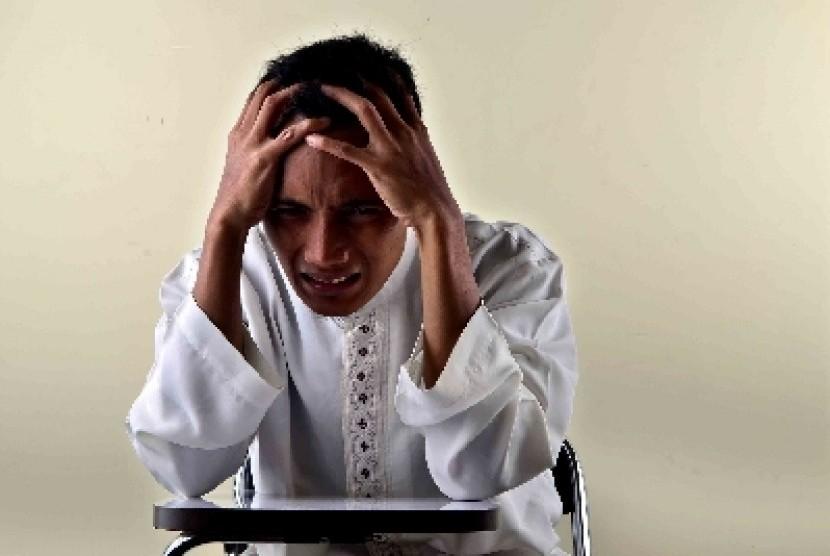 Depresi bisa memunculkan perasaan tidak mampu menjalani kehidupan.