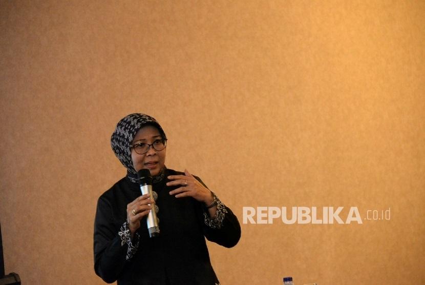 Deputi Bidang Pengembangan Pemasaran Pariwisata Nusantara Kemepar, Esthy Reko Astuti