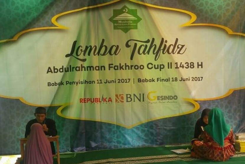 Dewan Kemakmuran Masjid (DKM) Musholla Abdulrahman Fakhroo (MAF) menggelar Tabligh Akbar dan Lomba Tahfidz MAF Cup II di MAF, Bukit Cimanggu City, Kota Bogor, pada 11-18 Juni 2017.
