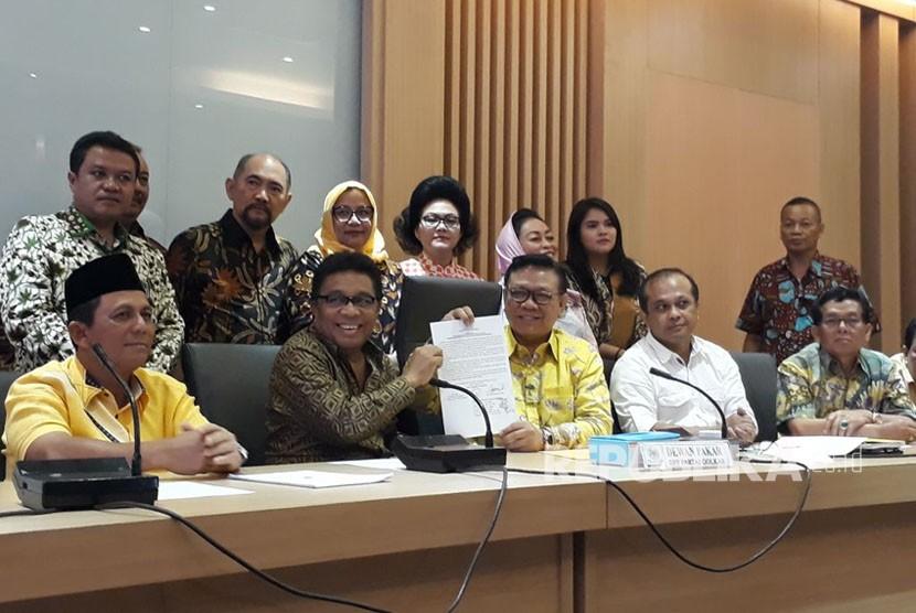 Dewan Pakar Desak Munaslub Golkar pada 15-17 Desember 2017