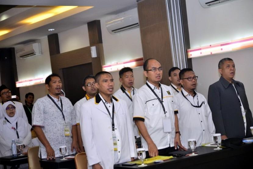 Dewan Pengurus Wilayah PKS DKI Jakarta menyelenggarakan Rapat Koordinasi Wilayah (Rakorwil) di Tebet Jakarta Selatan, Ahad (19/3)