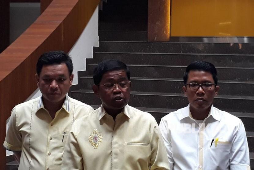 Daniel Muttaqien Sambangi Ketua PWNU Jabar Gus Hasan