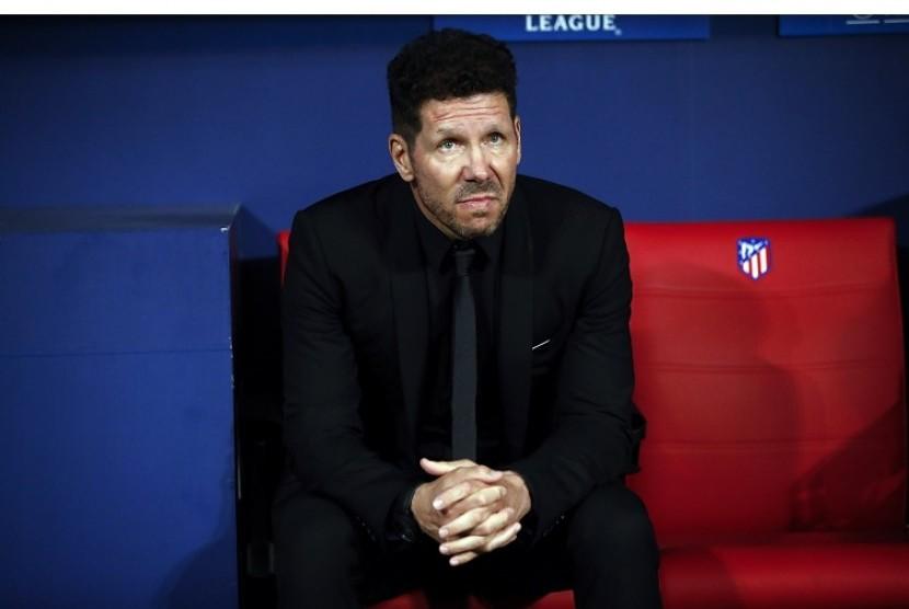 Jelang Derbi, Pelatih Atletico Puji Skuat Madrid