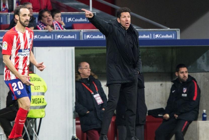 Simeone Akui Sevilla Layak Kalahkan Atletico