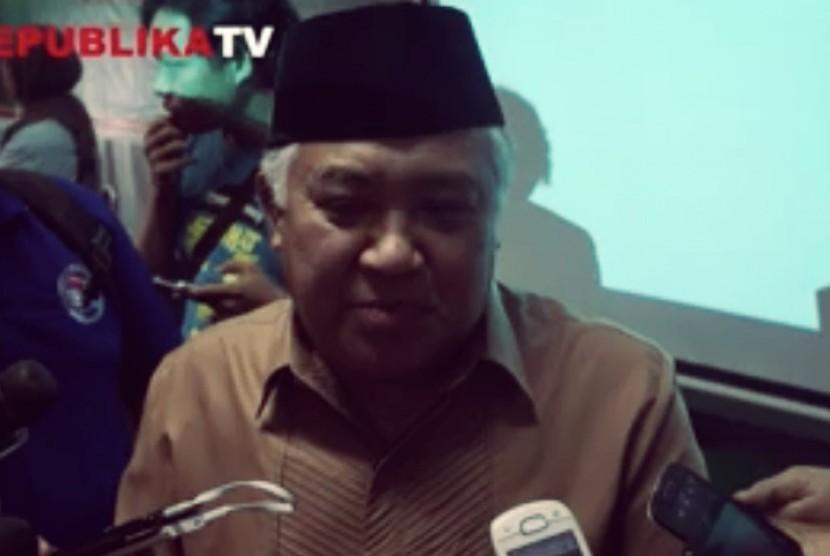 Din Syamsudin Dukung Indonesia Tolak Gabung Koalisi Saudi
