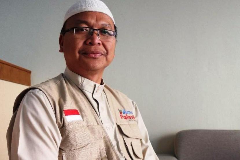 Direktur Aman Palestin-Indonesia, Miftahuddin Kamil, MA