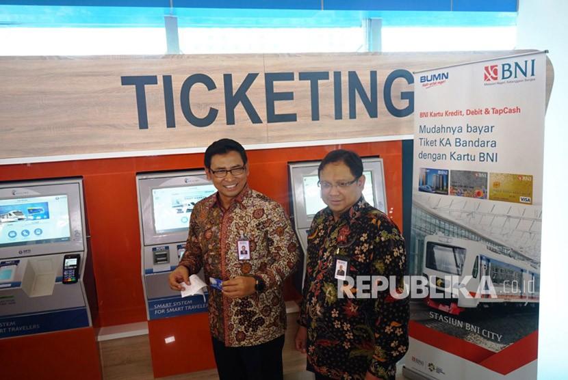 BNI Sediakan Beragam Layanan Keuangan di Stasiun BNI City