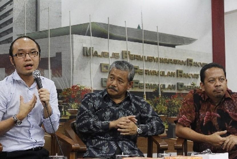 Charta Politica executive director Yunarto Wijaya