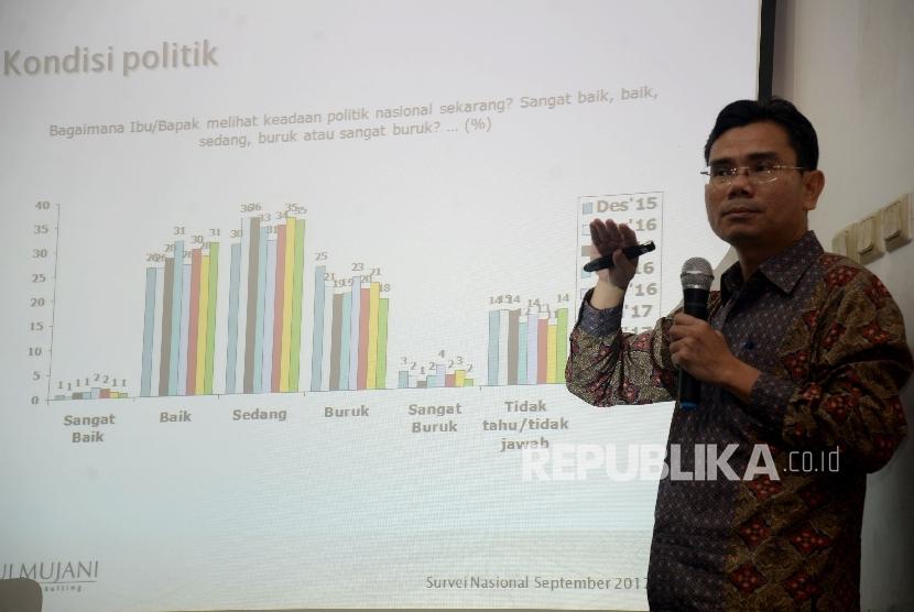 Direktur Eksekutif Saiful Mujani Research and Consulting (SMCR) Djayadi Hanan