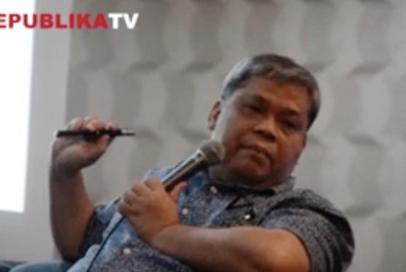Direktur Jenderal Kelembagaan Ilmu Pengetahuan, Teknologi, dan Pendidikan Tinggi, Dr. Ir. Patdono Suwignjo
