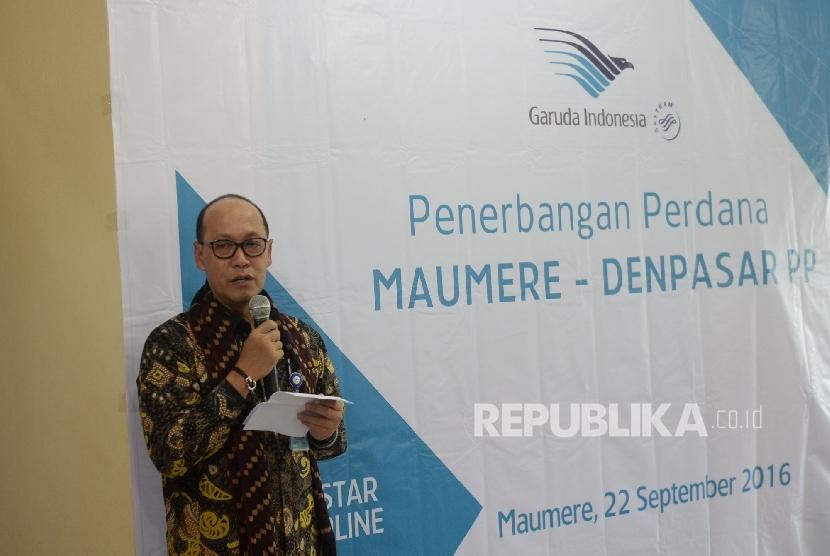 Direktur Kargo garuda Indonesia Sigit Muhartono.