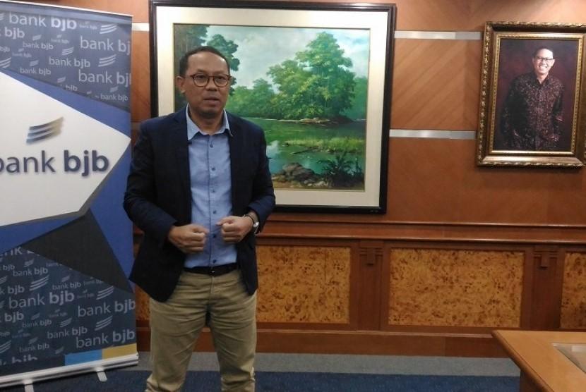 Direktur Kepatuhan dan Manajemen Resiko Bank BJB, Agus Mulyana.