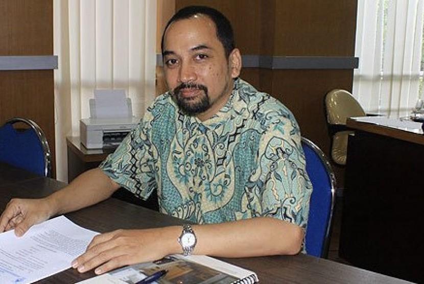 Direktur Pemasaran dan Kompetisi, Liga Indonesia Baru (LIB), Risha Adi Widjaya.