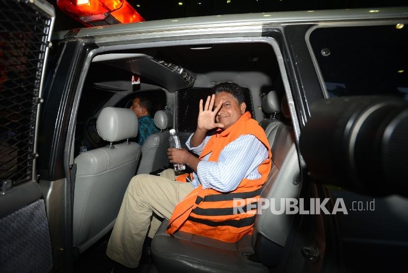 Terdakwa kasus penghapusan pajak PT Eka Prima Ekspor Indonesia, Ramapanicker Rajamohanan Nair.