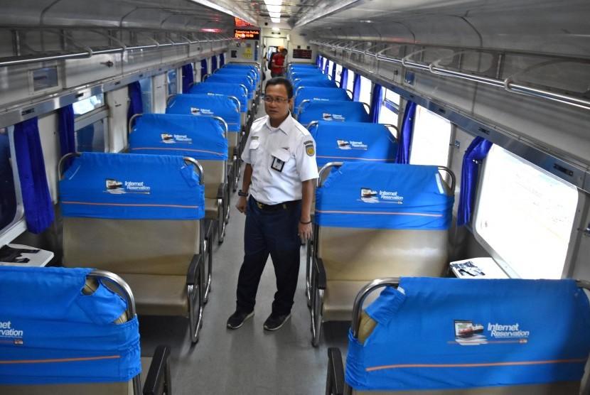 Direktur Utama PT Kereta Api Indonesia (KAI) Edi Sukmoro.