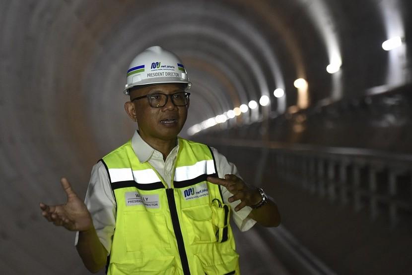 PT Mass Rapid Transit Jakarta president director, William Sabandar
