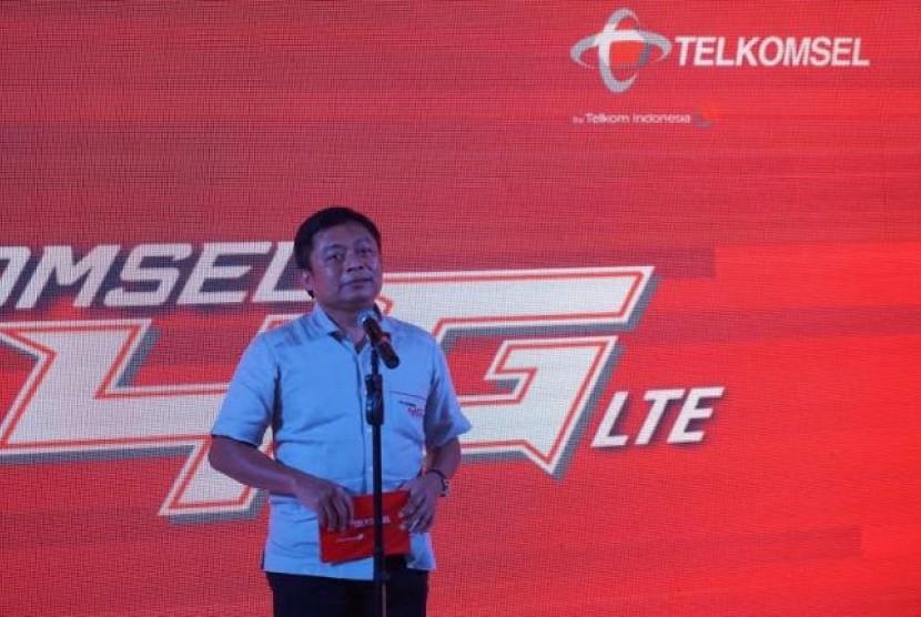 Direktur Utama Telkomsel, Ririek Adriansyah
