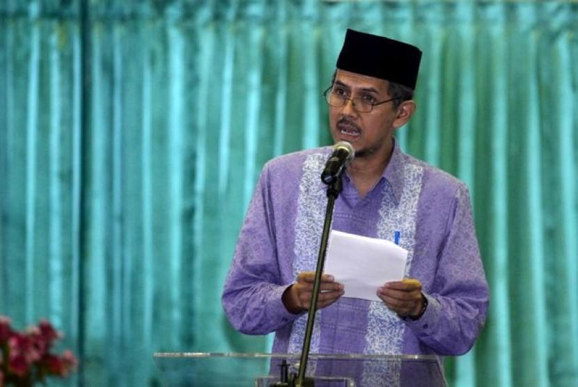 Dirjen Penyelenggaraan Haji dan Umrah Kementerian Agama, Anggito Abimanyu.