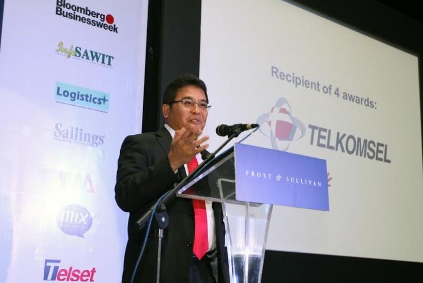 Dirut Telkomsel, Alex J Sinaga
