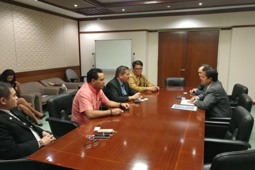 DPD RI bertemu Bank Pembangunan Asia (ADB) di Manila, Filipina.