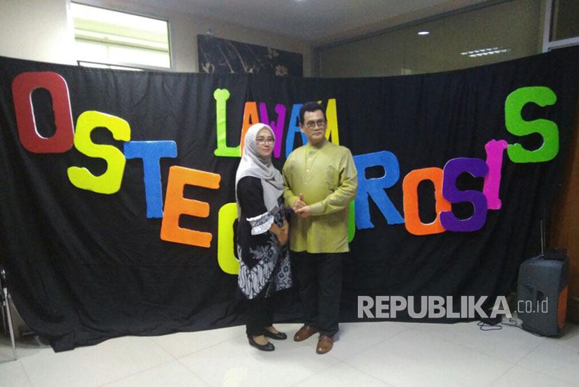 Dr Briliantono M Soenarwo dan isteri rayakan miladnya yang ke-61.