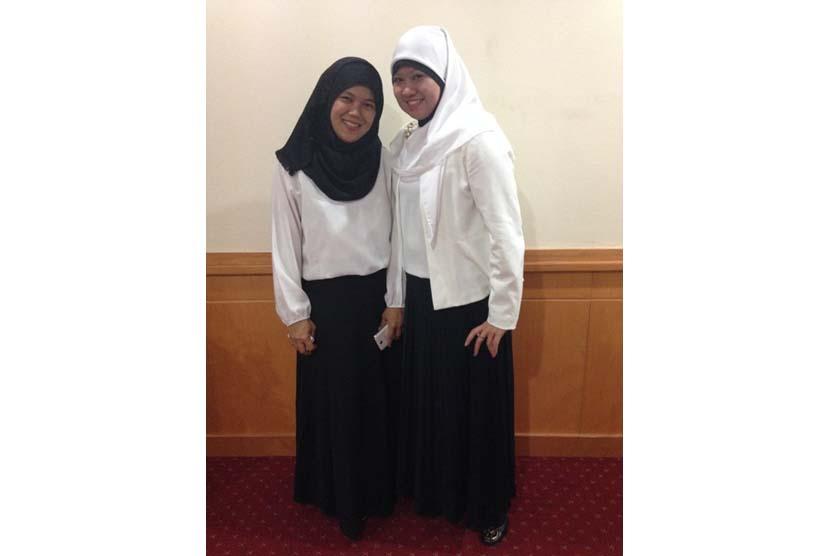Dr Efrini MEd (kanan)