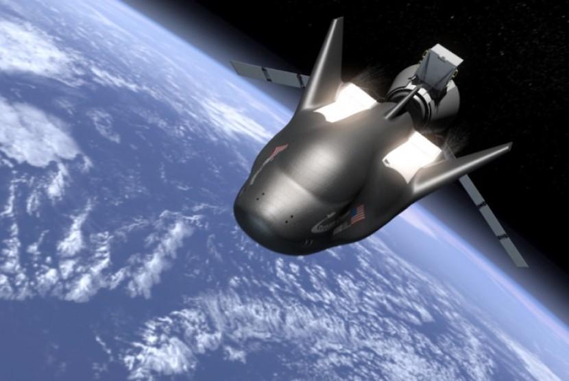 Dream Chaser pertama yang akan bertandang ke ISS.