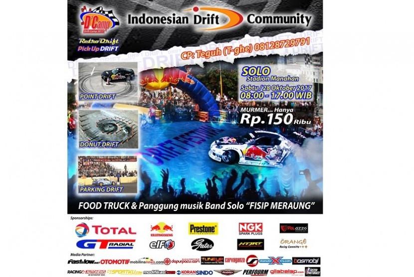 Drift Camp di Solo oleh Indonesian Drift Community