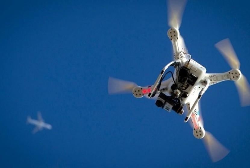 Drone. Ilustrasi