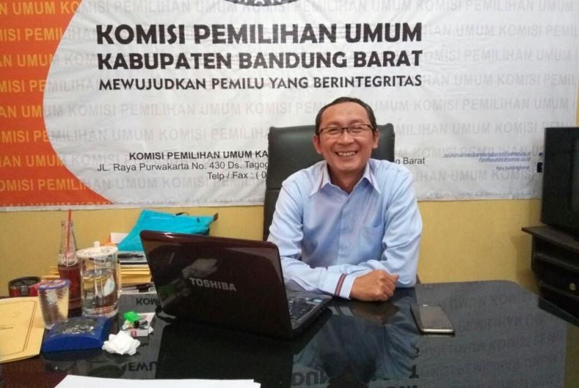 Drs Iing Nurdin MSi, Ketua KPU Kabupaten Bandung Barat.