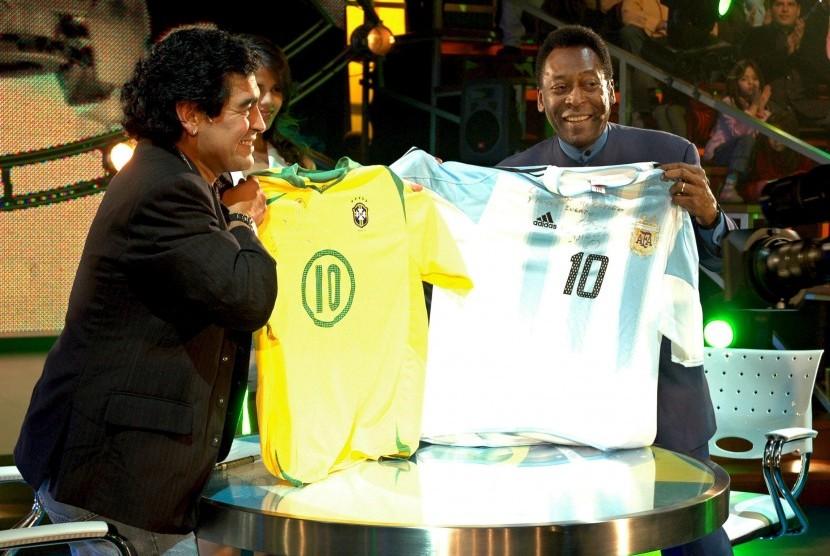 Pele dan Maradona Ikut Berduka untuk Chapecoense