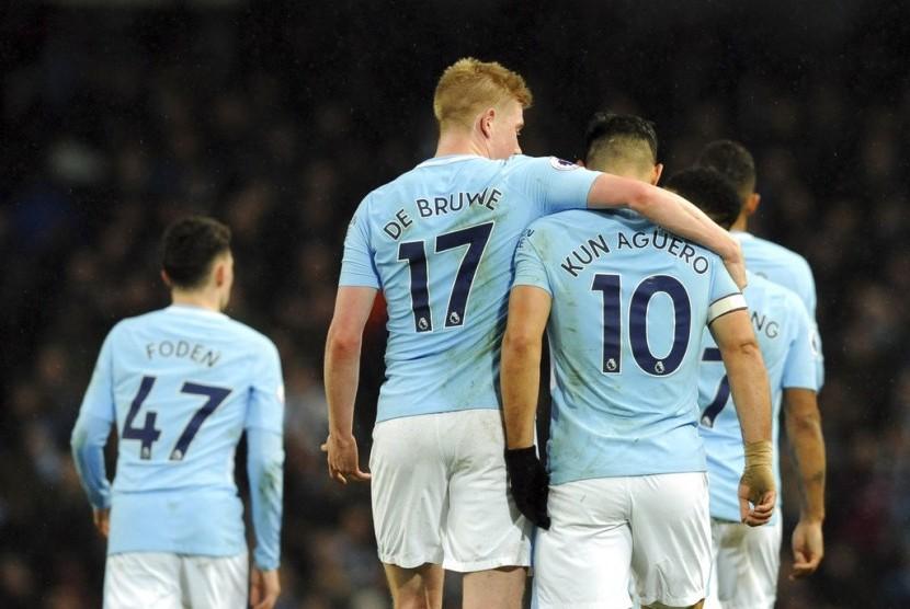 Penggawa Manchester City.