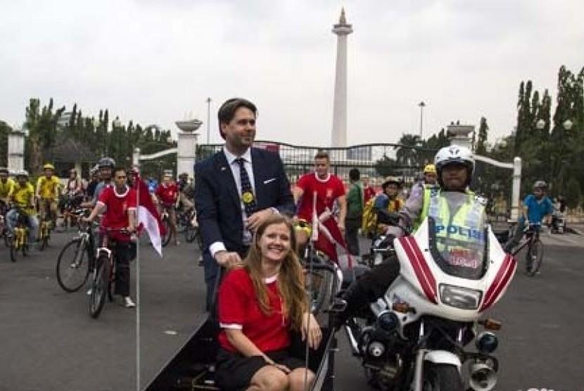 Dubes Kerajaan Denmark untuk Indonesia Casper Klynge