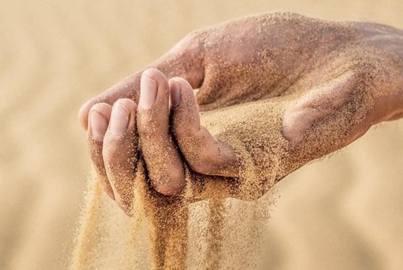 Dunia bisa mengalami krisis pasir. (ilustrasi)