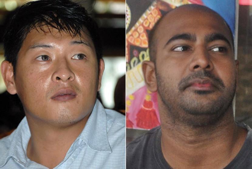Duo Bali Nine dieksekusi mati.