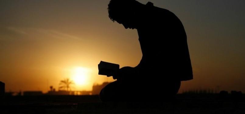 Dzikrullah atau mengingat Allah (ilustrasi).
