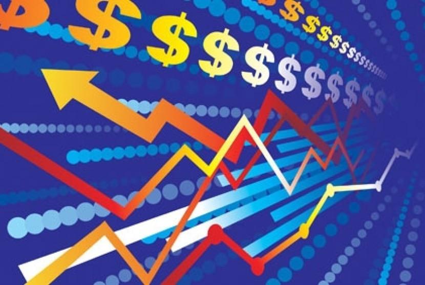 Ekonomi glorbal - ilustrasi