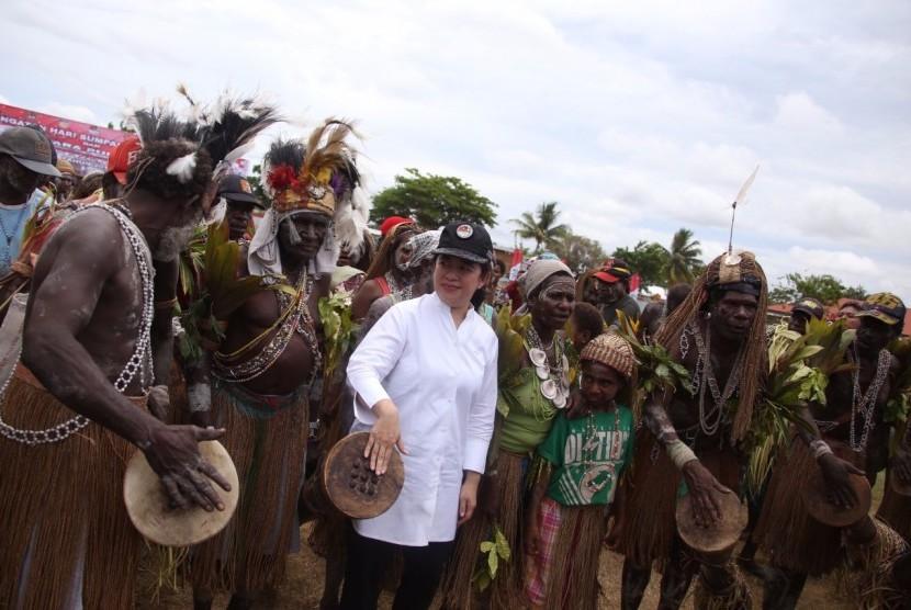 Ekspedisi NKRI sudah menjangkau Papua bagian selatan, Sabtu 928/10).