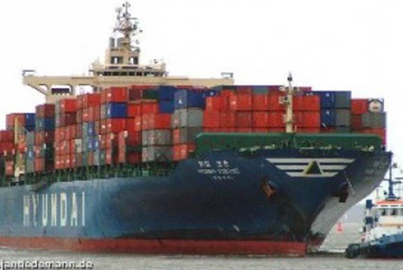 Ekspor-impor (ilustrasi)