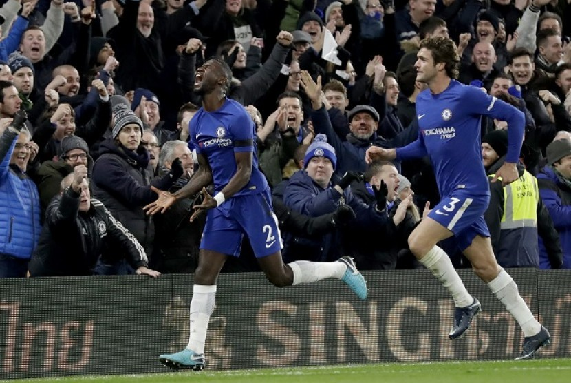 Ruediger Pahlawan Chelsea Saat Atasi Swansea City