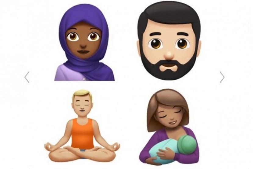 emoji berhijab