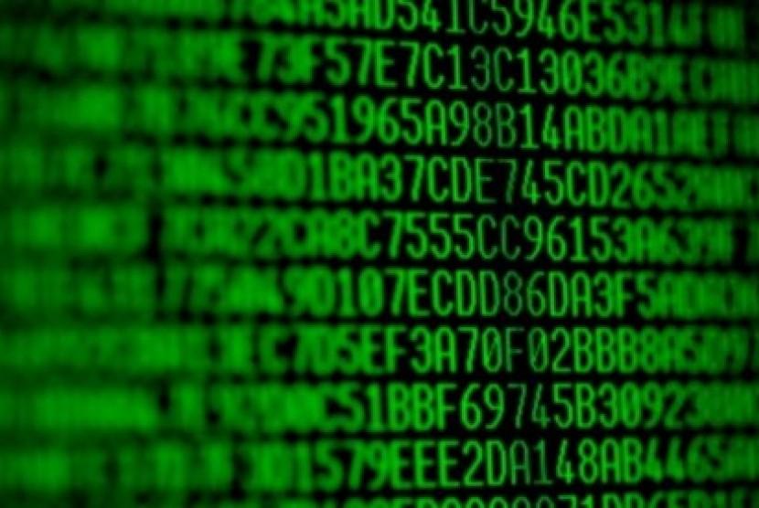 Enkripsi data (ilustrasi)