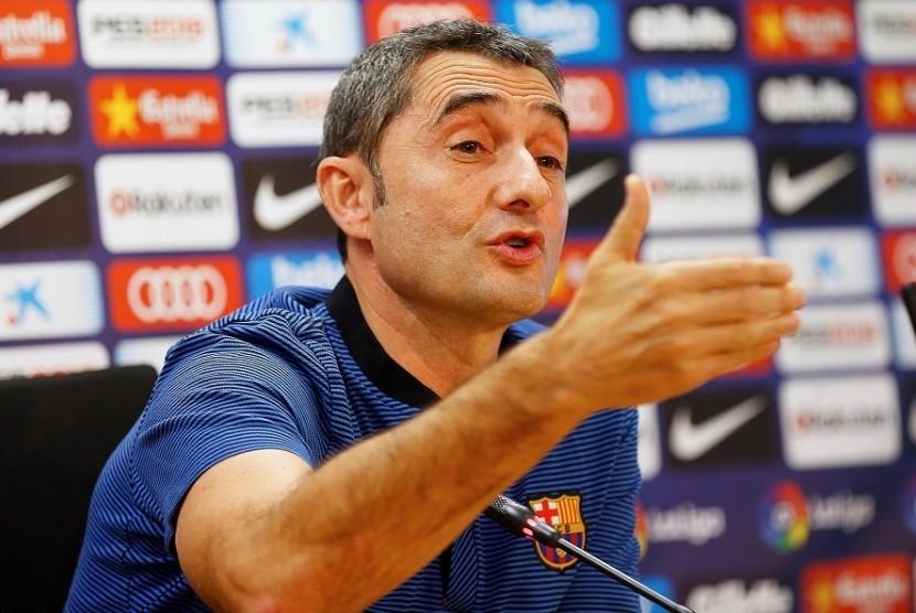 Valverde Akui Villarreal Bermain Rapi Lawan Barcelona