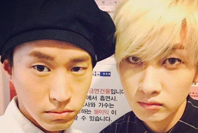 Eunhyuk Suju dan Tablo Epic High.