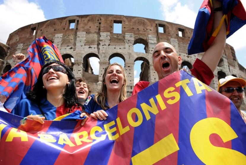 Kasih Ucapan Selamat kepada Real Madrid, Sikap Fans Barcelona Terbelah
