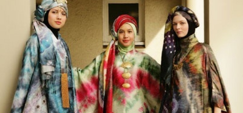Fashion Muslim, ilustrasi