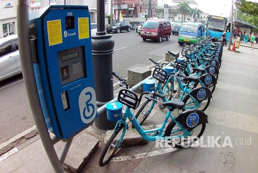 Sandiaga Pertimbangkan Sistem Bike-Sharing di Jakarta